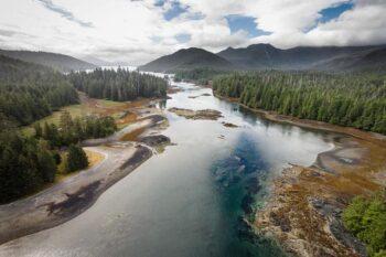 A river in Haida Gwaii
