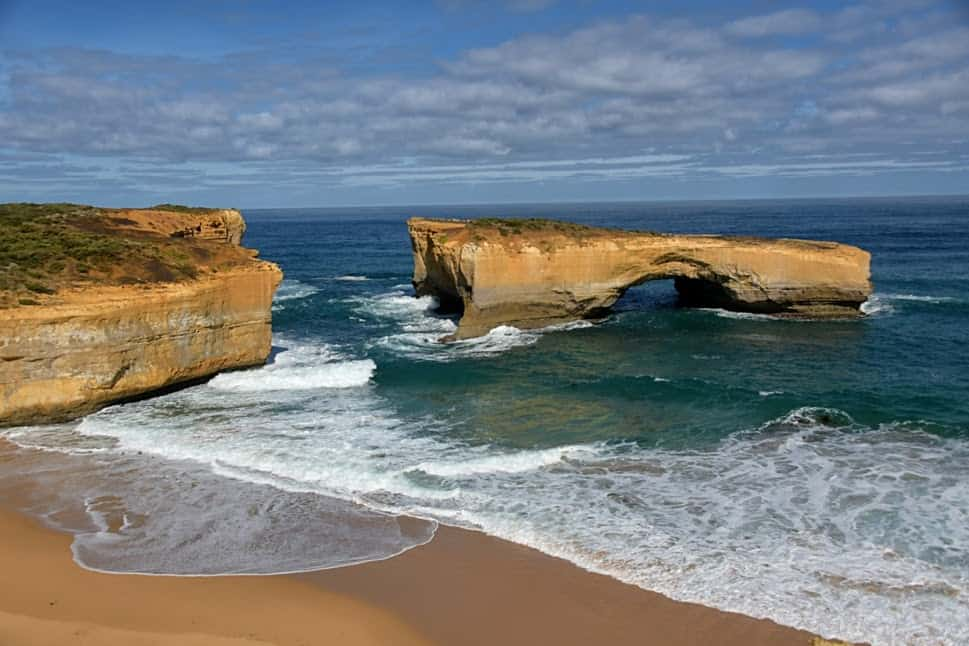 The Twelve Apostles along the Great Ocean Road in South Australia.