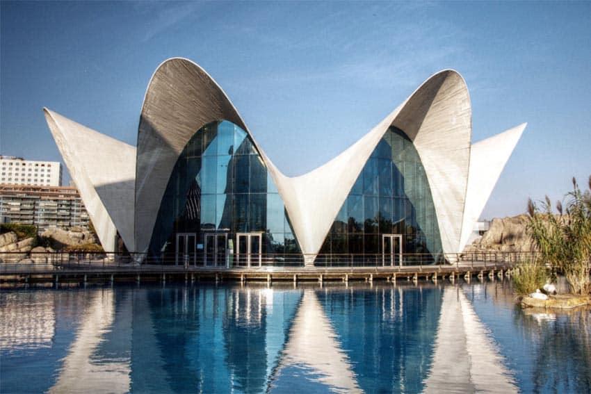 The Oceanographic aquarium complex