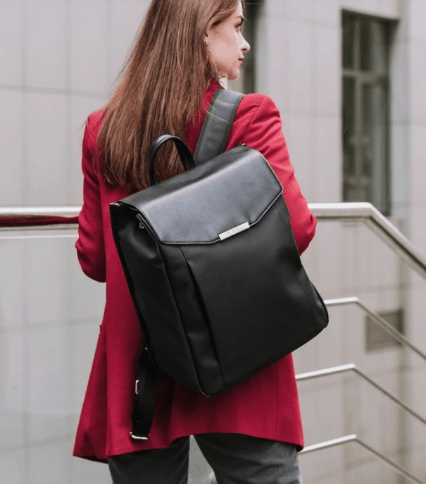 Gift Guide: Astrid Vegan backpack. No leather.