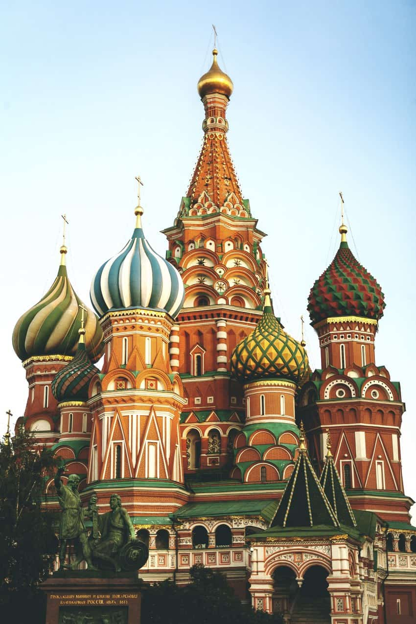 Moscow: Colorful Architecture Steeped in Military Tradition 1