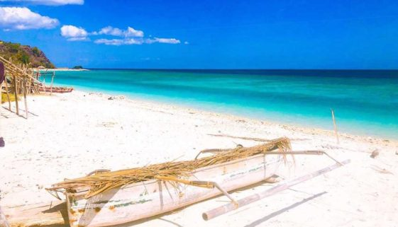 One of the many picturesque beaches in Timor-Leste