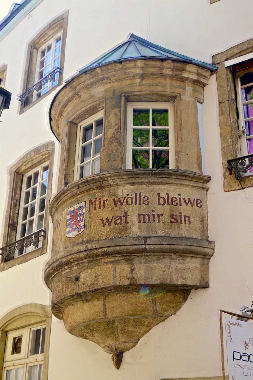 """""""We want to stay what we are'' is the motto of Luxembourg.© Roman Schönfeld LFT"""
