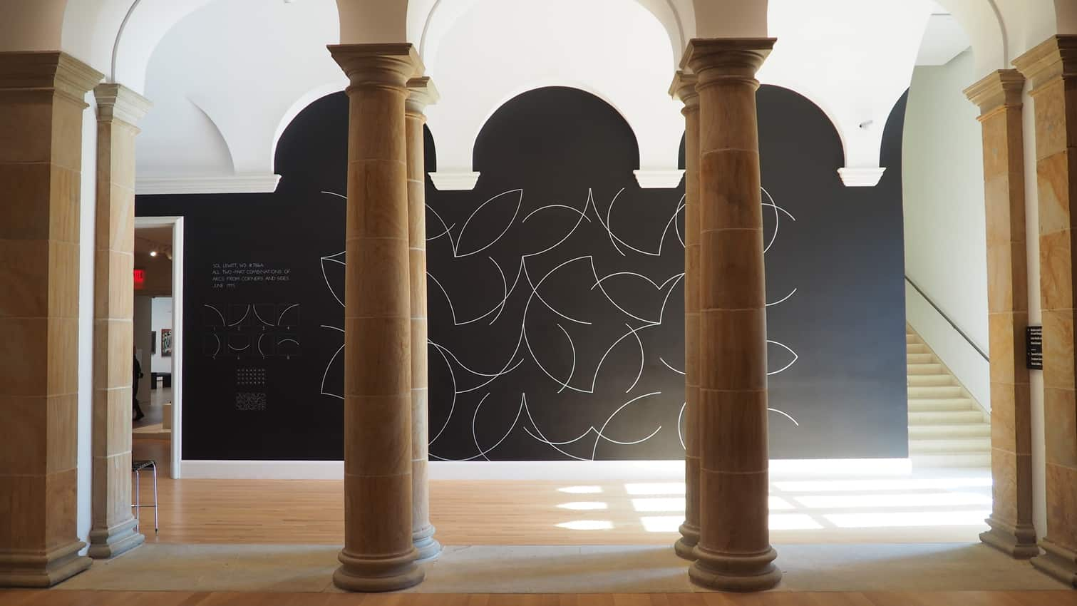 An artwork at the Yale University Art Gallery