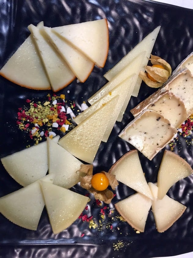 Hand-made gourmet cheeses are a Spanish specialty enjoyed throughout Extremadura.