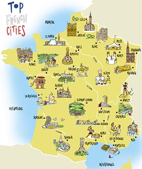 Top French Cities 1