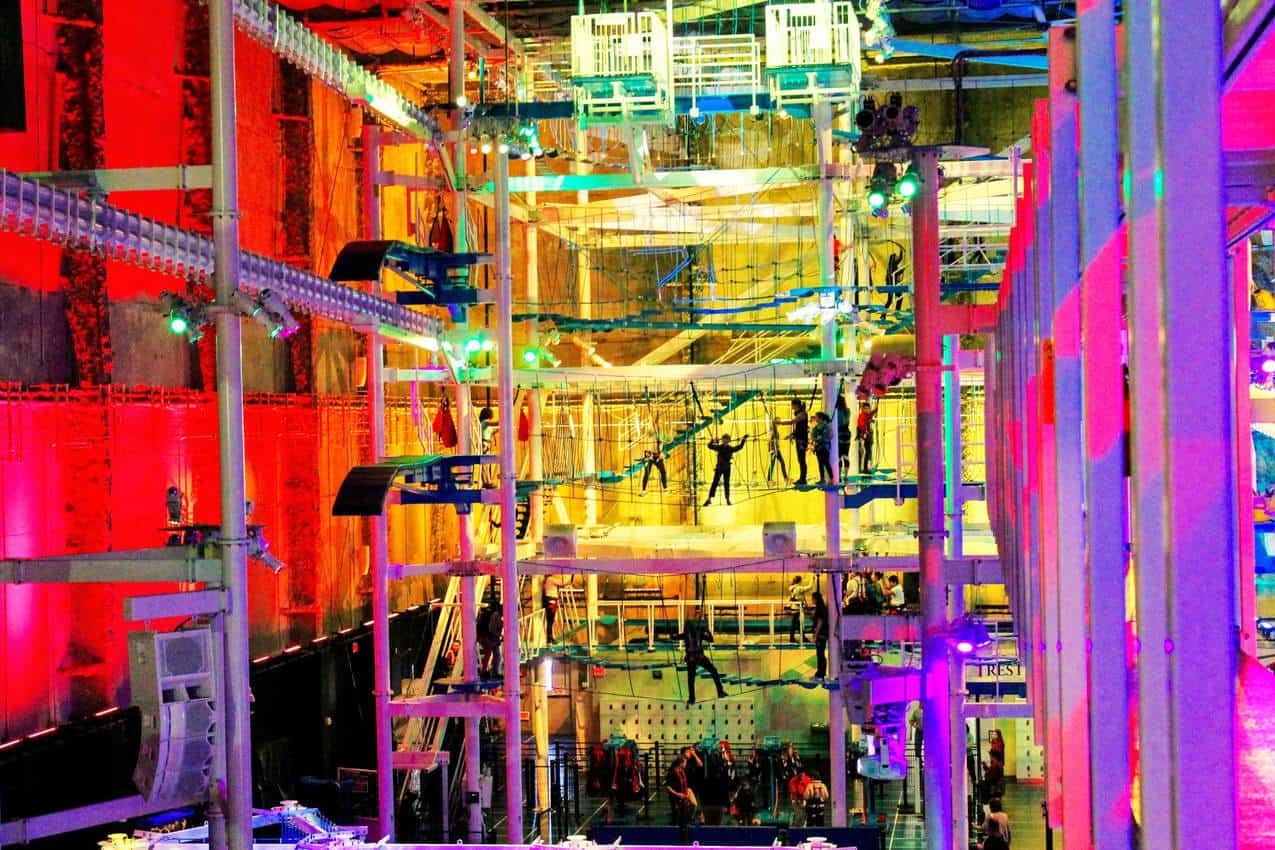 IT indoor ropes course