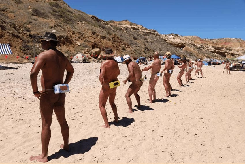Australia's Hilarious Nude Beach Games