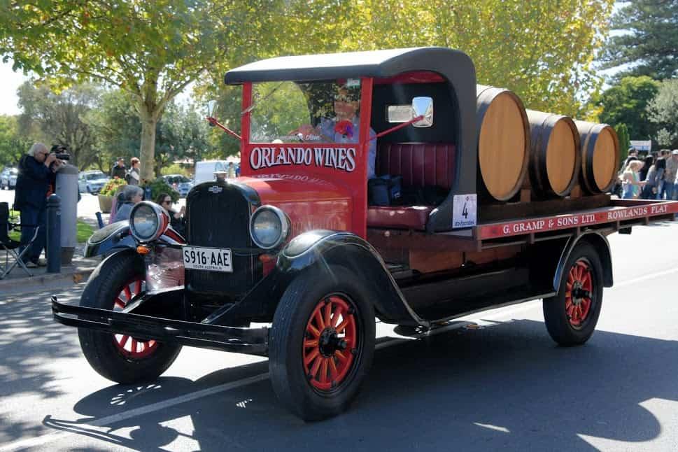Old wine truck in Tenuda Australia.