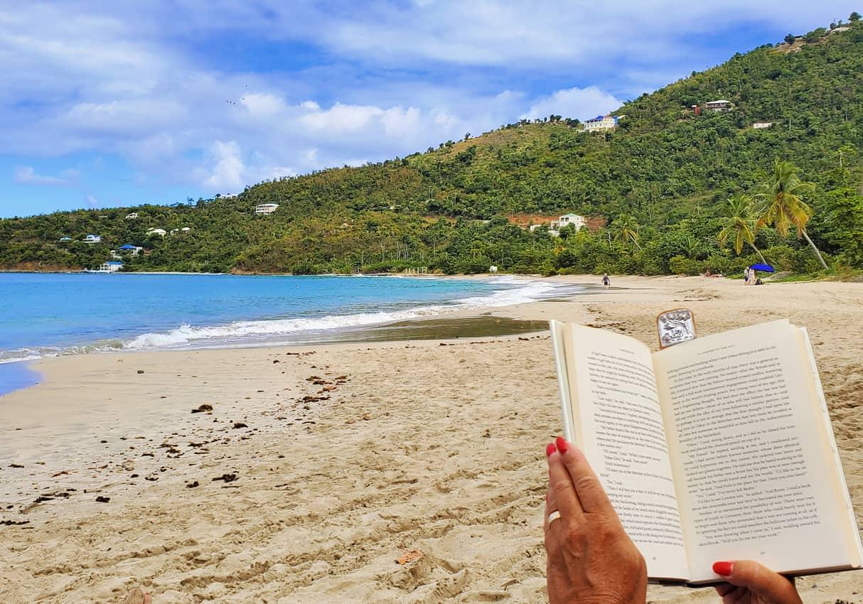 Chillin in quiet Brewers Bay, Tortola