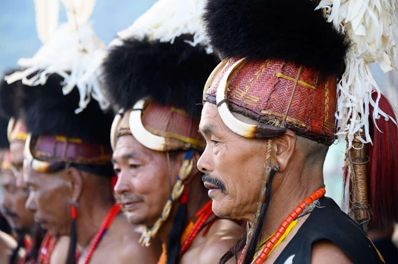 The Hornbill Festival in Nagaland.