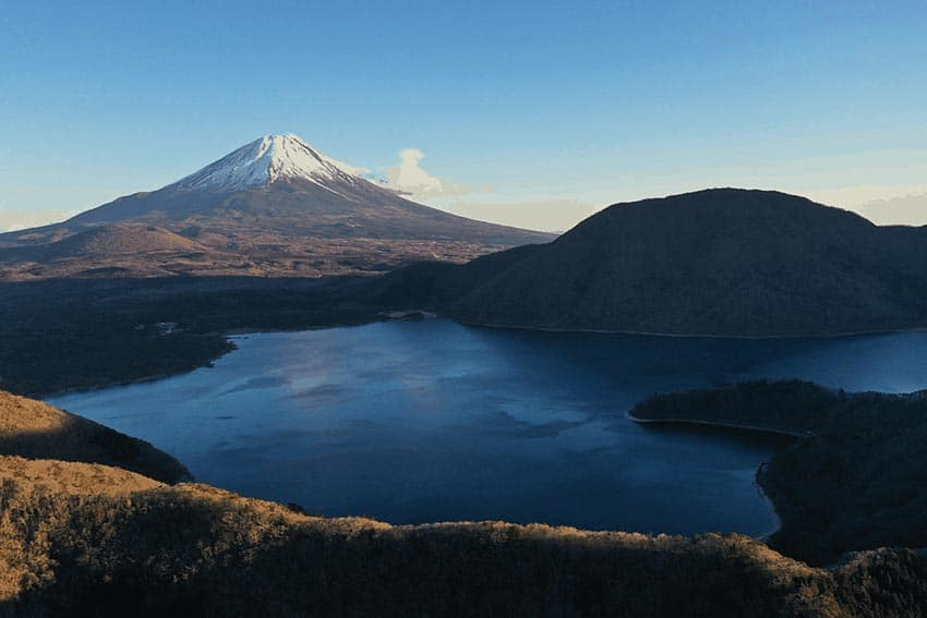 Mount Fuji, another popular UNESCO World Heritage Site in Japan