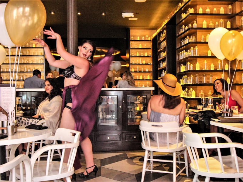 New Orleans, aka NOLA is as fun and free-spirtied as ever with boozy burlesque brunch at SoBou.