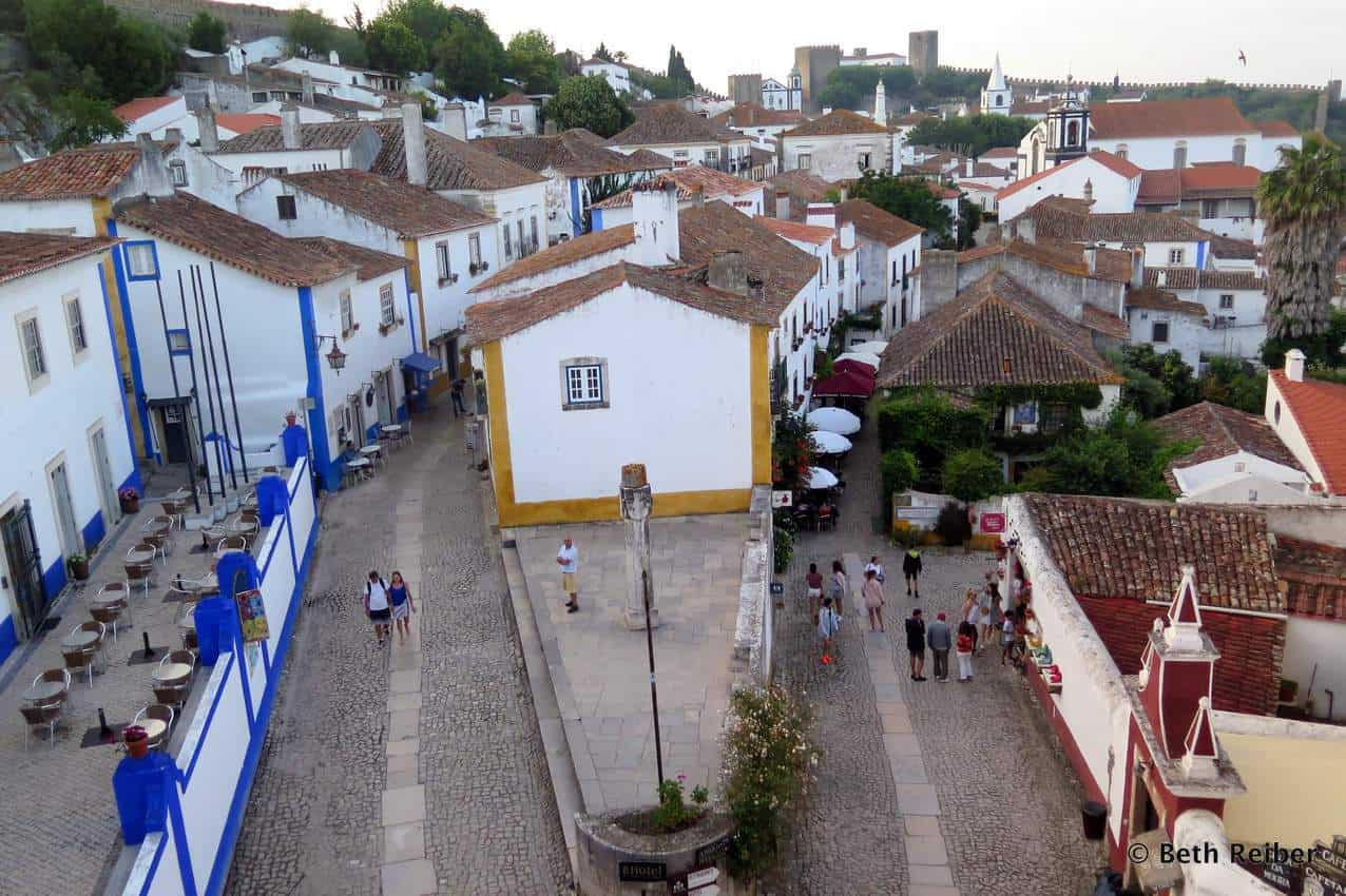 The small city of Obidos, Portugal has a lot to offer, including bookstores, a castle, and friendly locals. Beth Reiber photos.