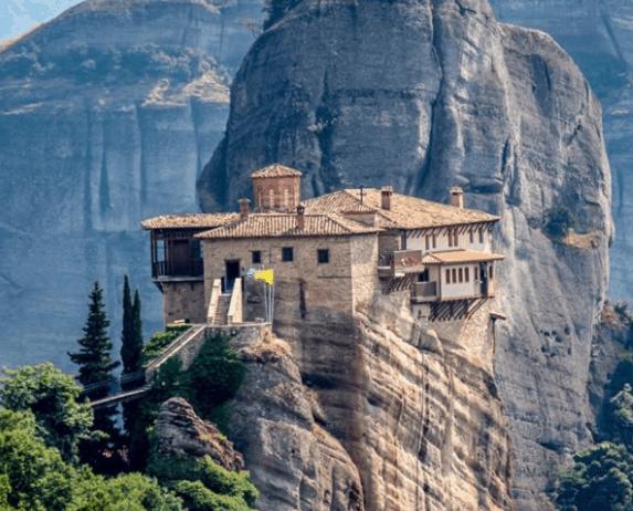 St Stephen's Monastery in Greece.