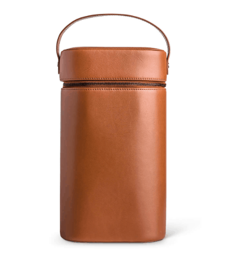 Sommelier leather Wine Carrier by Moral Code.