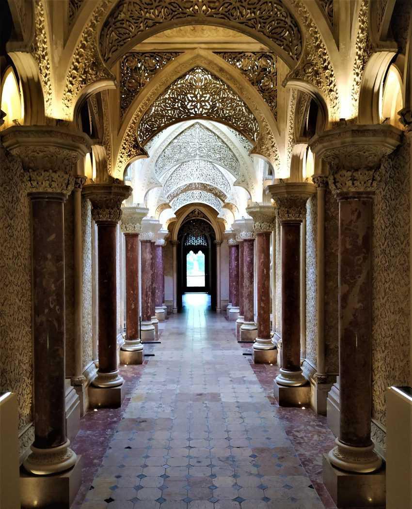 Beautiful Monserrate Palace, Sintra, Portugal
