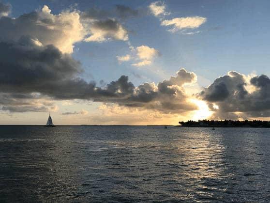 Florida Keys sunset. Cathie Arquilla photos.