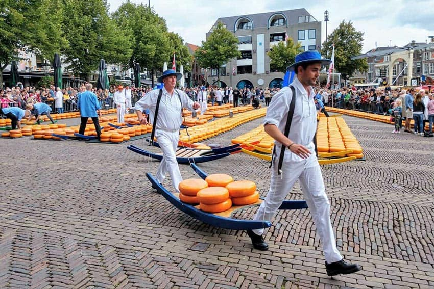 Exploring Holland's Cheese Markets