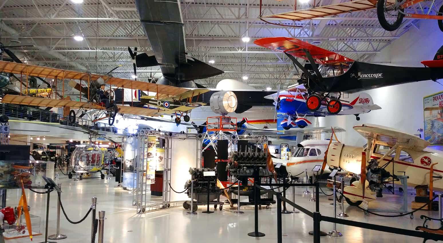 Hiller Aviation Museum in California.