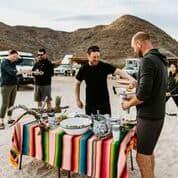A Bolt organized an activity in Baja, Mexico.