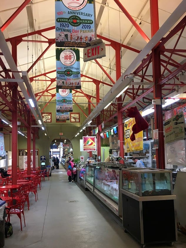 Findlay Market is oldest public market in continuous operation in Ohio. It opened in 1852 and is on the National Register of Historic Places.