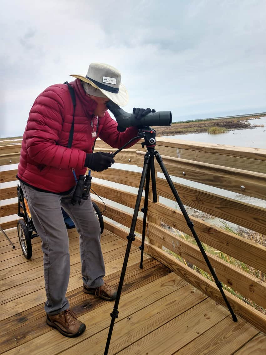 Birding enthusiast Ray Dillahunty says April is the best time to go birding along the Texas Coastal Bend, which includes his town of Port Aransas