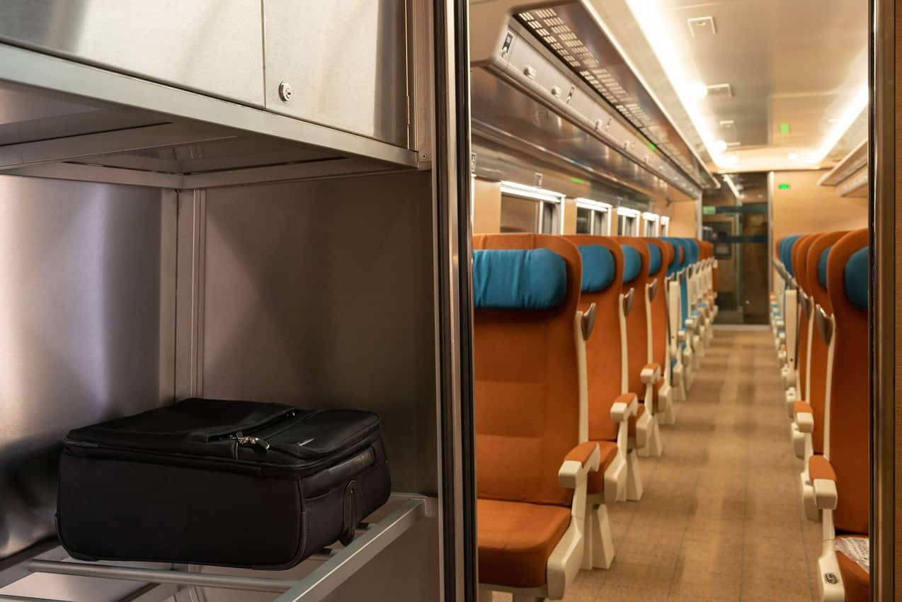 The Caledonian Sleeper provides airline seating for those not wanting a room.
