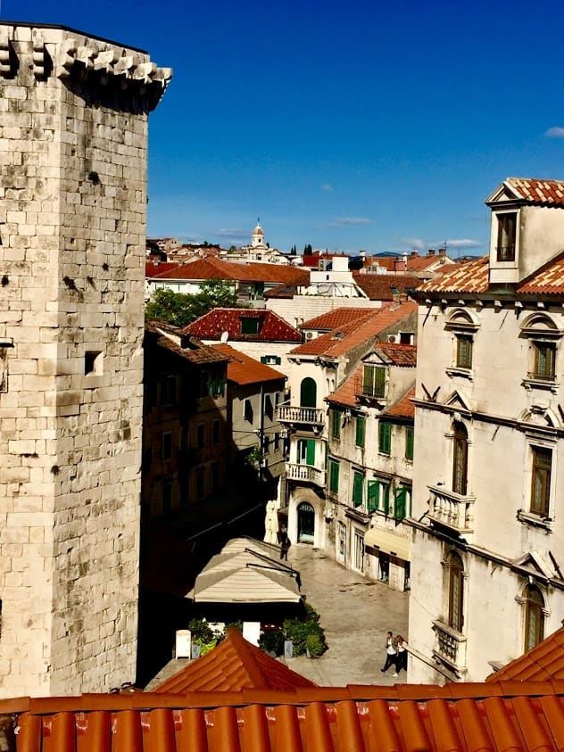 Each day, guests of the Adriatic Breeze get time to explore villages along the Dalmatian Coast, like this one in Sibenik, Dalmatia, Croatia.