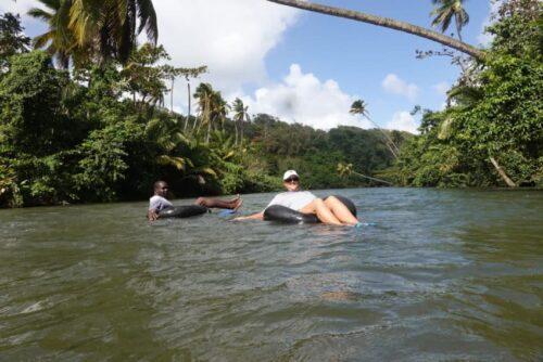 Tubing the Hempstead River Dominica