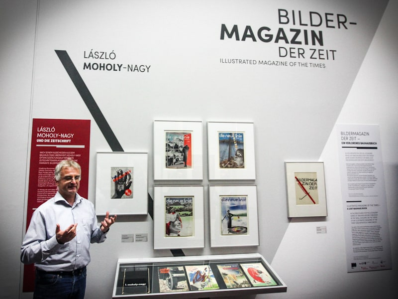 Patrick Rössler gives an in-depth look at his print media collection from the interwar period at Angermuseum in Erfurt.