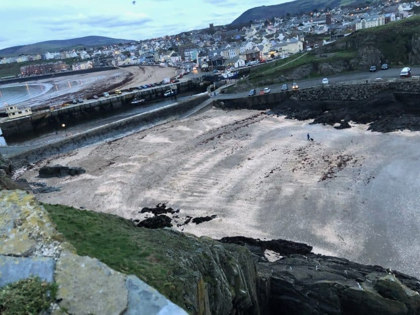 Fenella Beach Peel, Isle of Man