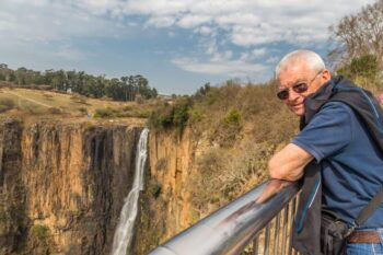 David at Howick Falls, Howick, South Africa.