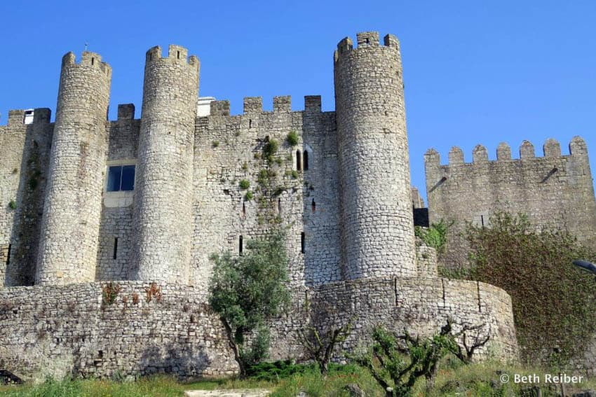Obidos Castle now houses a state-owned inn