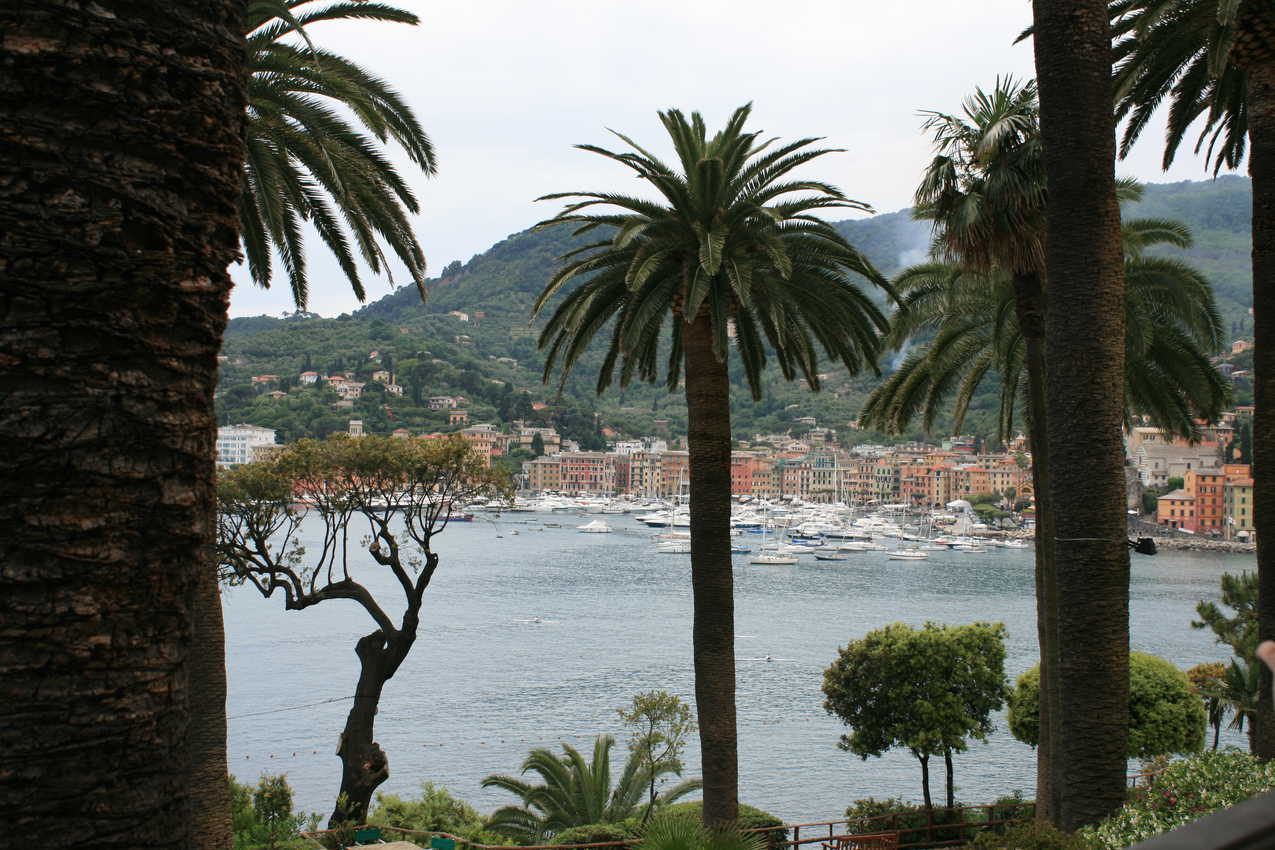 Santa Margherita: The view from the hotel