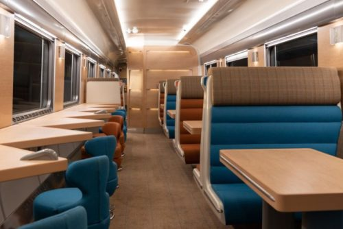 Inside the Caledonia Sleeper