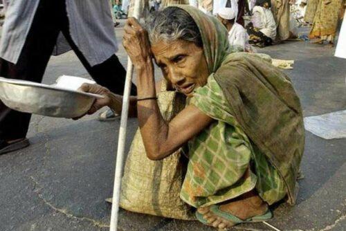 begging women in Dhaka