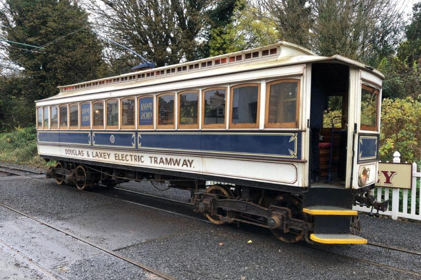 The island's Electric tramway was the world's first, traveling today between Douglas and Ramsey.