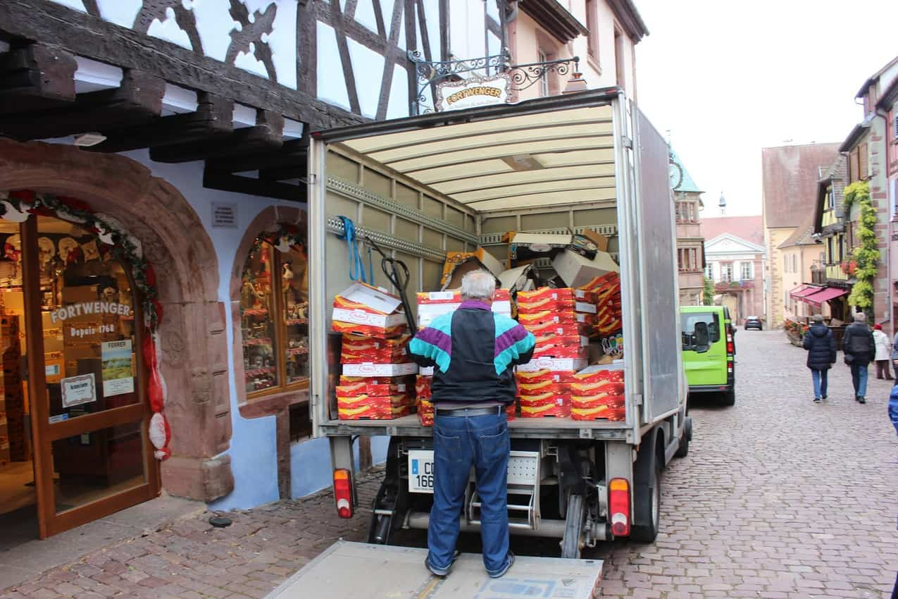 Alsace: The Walled Town of Riquewihr 2