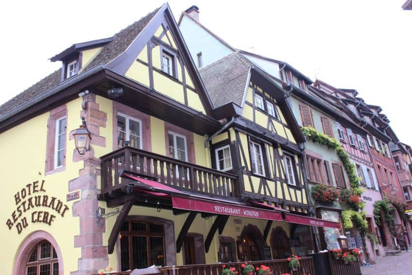Alsace: The Walled Town of Riquewihr