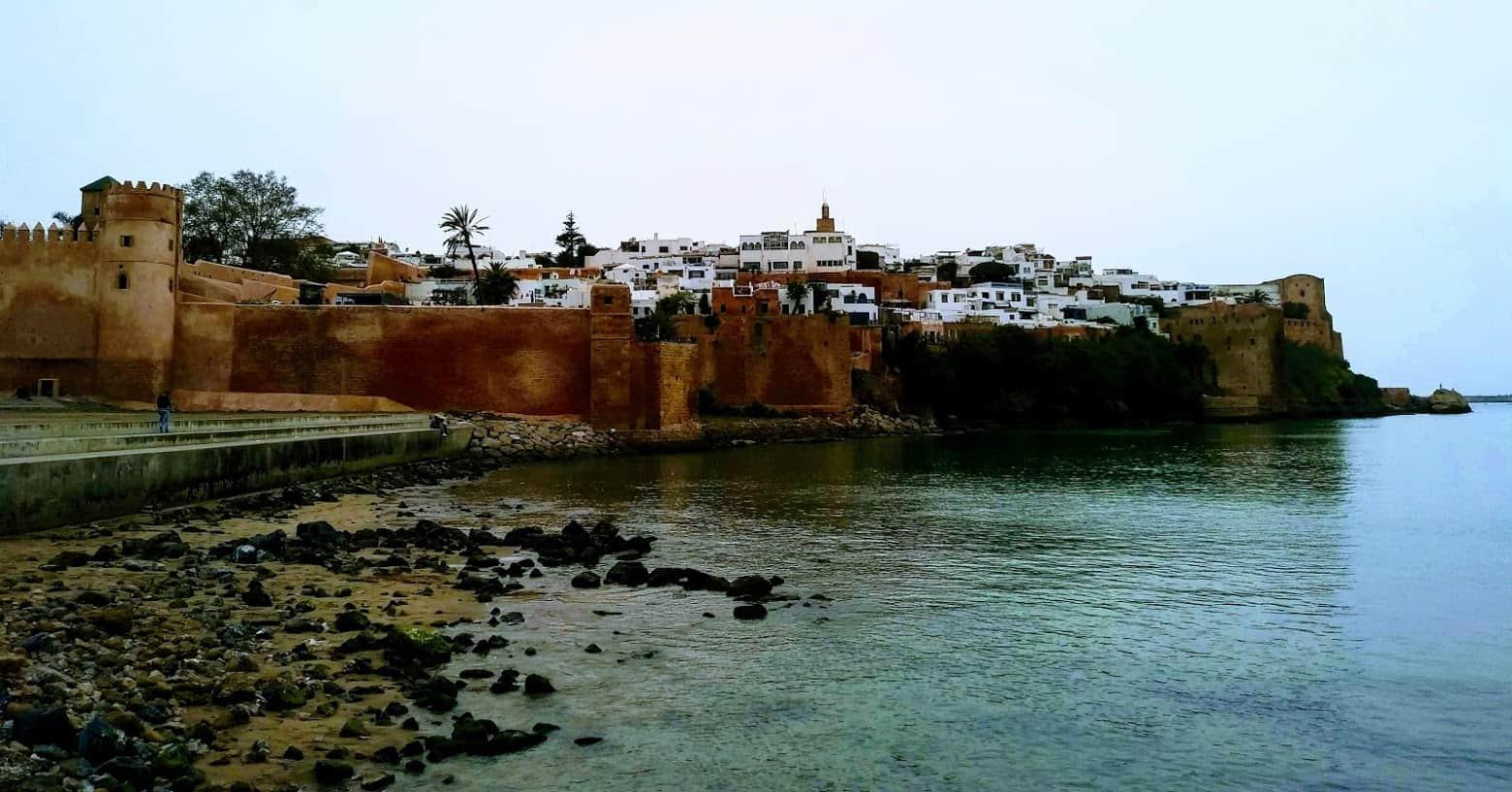 The Kasbah des Oudaias in Rabat seen from the river Bou Regreg. Photo credit: Mac Dressman.