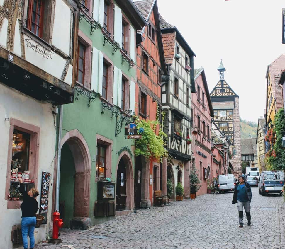 Alsace: The Walled Town of Riquewihr 1