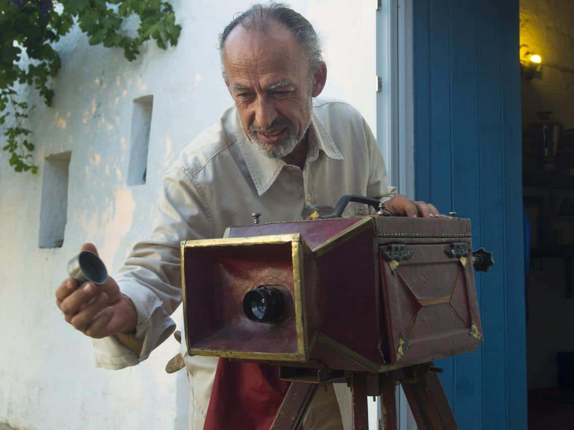 Manoocher, a professional photojournalist employed with VAWAA, lives in Puglia, Italy. Photo courtesy of VAWAA.