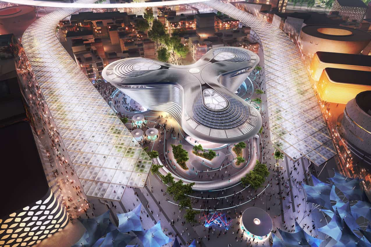 The Mobility pavilions represents a major themes of this year's World Expo. World Expo 2020 photos.
