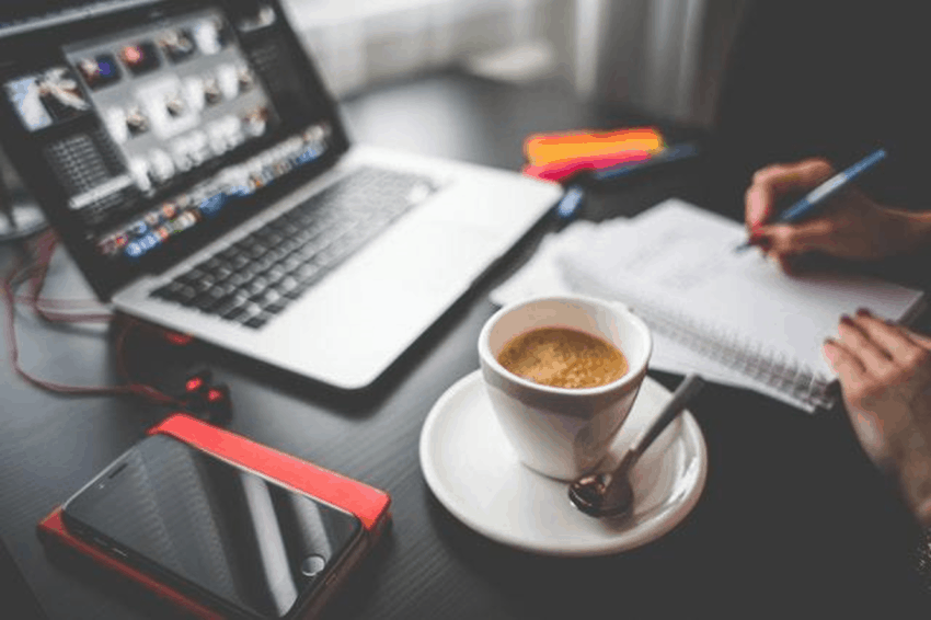 All a digital nomad needs to run his business are a laptop, a coffee, and imagination.