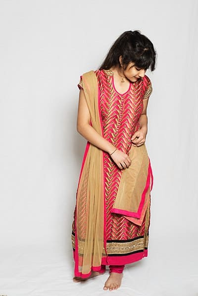 Shalwar Kameez dress. Harry Kramer photo.