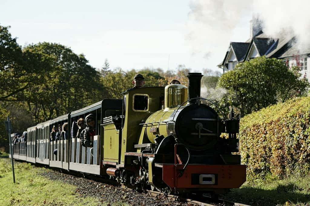 The Ravenglass and Eskdale Railway runs through many popular sights in the Lake District. Peter Trimmings photo.