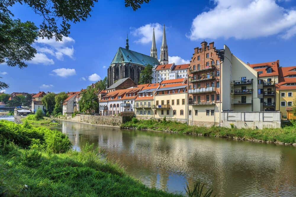 The architecture in Görlitz expresses many different generations of art history. Photo by Reiner Weisflog.