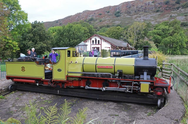 Dalegarth station is the final stop of the Railway. Chris Allen's photo.