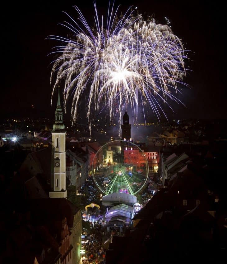 Alstadtfest celebrations in Görlitz. Photo by Nikolai Schmidt.